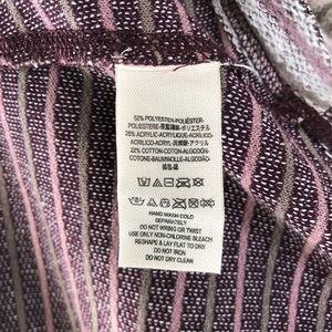 Free People Tops - Free People Purple Pullover Sleeveless Hoodie